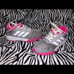 Adidas Toddler Girl Tennis Shoes Size 13